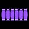 MULTIHexagonal_20x20framecorners.stl Télécharger fichier STL gratuit Encadrements hexagonaux 20x20 • Objet pour imprimante 3D, Henry_Millenium