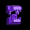 2_Drag_Head2_Face_GREY.stl Download STL file ARTICULATED DRAGONLORD (not Dragonzord) - NO SUPPORT • 3D printer model, Toymakr3D