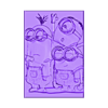 lito_minionsv2_fixed.stl Download free STL file Litofania Minions • Model to 3D print, 3dlito