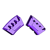 41_Drag_Hand4_CoverBack_BLACK.stl Download STL file ARTICULATED DRAGONLORD (not Dragonzord) - NO SUPPORT • 3D printer model, Toymakr3D