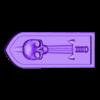 armbar-nishe-sword-skull1.stl Télécharger fichier STL gratuit Sci-fi bunker bunker bunker 28mm • Design pour impression 3D, Terrain4Print