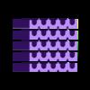 Hive_Tray_x5.stl Télécharger fichier STL gratuit Hôtel Mason Bee • Objet imprimable en 3D, Lorrainedelgado3DBEES