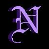 NearLogo.stl Télécharger fichier STL gratuit Près de N Logo - Death Note • Modèle pour imprimante 3D, Hoofbaugh