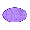 Oval_90x52mm_base_INDR_01.stl Download free STL file Sci-fi industrial bases all sizes all shapes • 3D printing template, Alario