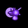 roscoe full.stl Download free STL file Roscoe - Animal Crossing • Template to 3D print, skelei