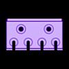 Screws.stl Download free STL file TX Screwdriver Set 6pcs Holder for Wall 058 I for screws or peg board • 3D print template, Wiesemann1893