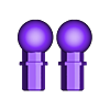 65_Drag_Leg15_AnkleJoint_GREY.stl Download STL file ARTICULATED DRAGONLORD (not Dragonzord) - NO SUPPORT • 3D printer model, Toymakr3D