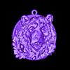 Bear head pendant medallion jewelry.stl Télécharger fichier STL gratuit Pendentif tête d'ours médaillon bijouterie modèle d'impression 3D • Modèle pour impression 3D, Cadagency