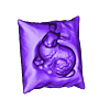 Stanford_bunny_resting_on_a_pillow__bunny_and_pillow_.stl Download free STL file Stanford bunny resting on a pillow • Template to 3D print, CreativeTools