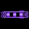 BA_18650x2.stl Télécharger fichier STL gratuit Adaptateur de batterie 18650 pour tournevis. • Plan à imprimer en 3D, SiberK