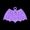 batman.stl Télécharger fichier STL gratuit Porte-clés Batman • Plan pour impression 3D, shuranikishin