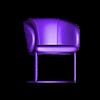 1.stl Descargar archivo OBJ SILLAS DE JUEGO ( DESAYUNO, ALMUERZO, CENA ) • Modelo imprimible en 3D, MatteoMoscatelli