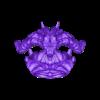 Demon Head + Base  Separate 17CM STL_SubTool1.stl Télécharger fichier OBJ Modèle d'impression 3D du buste du démon • Design imprimable en 3D, belksasar3dprint