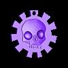 skull_keychain.stl Télécharger fichier STL gratuit porte-clés crâne • Modèle imprimable en 3D, shuranikishin