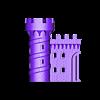 Castle_Bottom_Front_Left.stl Download free STL file Castle Dedede - Amiibo Prop • 3D printable object, ChrisBobo