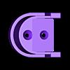 4_PVC_holder.stl Télécharger fichier STL gratuit Support PVC 3/4 • Objet pour impression 3D, LittleTup