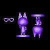 raymond split - bigger base.stl Télécharger fichier STL gratuit Raymond - Traversée des animaux • Objet imprimable en 3D, skelei