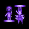 CE2_skye with base.stl Download free OBJ file Animal Crossing Wolf • 3D printer design, skelei