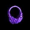 bird ring3.stl Télécharger fichier STL gratuit Anneau de tête de faucon • Modèle pour impression 3D, LittleTup