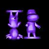 bull split.stl Download free STL file Animal Crossing Bull • 3D printing object, skelei