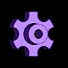 Handrad_lang.stl Télécharger fichier STL gratuit poignée pour les écrous et vis M6 • Objet imprimable en 3D, pgraaff