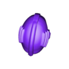 Shiro_Helmet_rescaled.stl Download STL file Shiro, The Stormseer • 3D printable object, Sumbu
