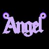 angel collar.stl Download STL file Angel/Daddy/Demon/Baby necklace pack • 3D printer object, merjofre