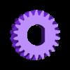 FingerWheelGear.stl Télécharger fichier SCAD gratuit Planétarium mécanique • Plan pour impression 3D, Zippityboomba