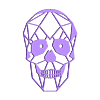 meSkull.stl Download free STL file Skull 2D (self option) • Design to 3D print, miguelonmex
