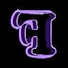 F.stl Download STL file sharp letters Cooper Black • 3D printing model, juanchininaiara