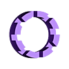 Adapter_8030.stl Télécharger fichier SCAD gratuit un dispositif de réglage paramétrique de la hauteur personnalisable pour les planteurs d'orchidées • Design pour imprimante 3D, pgraaff