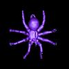 hanging_tarantula_light.obj Télécharger fichier OBJ gratuit Araignée suspendue • Objet à imprimer en 3D, Pza4Rza