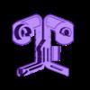 SCOTCH_V3.stl Télécharger fichier STL gratuit Distributeur de ruban adhésif • Modèle imprimable en 3D, Jetstorm-3D
