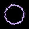 Bracelet_-_Hollow.stl Download free STL file Polygon Vase, Cup, and Bracelet Generator • 3D printer template, Balkhnarb