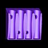Whiteboard_MarkerHolder_v2.stl Download free STL file Whiteboard marker holder • 3D printing object, a69291954