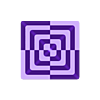 piramide_extr1.stl Télécharger fichier STL gratuit Calibrage de l'extrudeuse double • Objet à imprimer en 3D, saginau