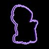 Zuma Frame.stl Télécharger fichier STL Zuma de Paw Patrol Cookie Cutter • Modèle pour imprimante 3D, dwain