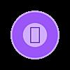Szpunt_v1.stl Télécharger fichier STL gratuit Bouchon de bain 43mm • Modèle imprimable en 3D, ZXAtari