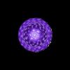 ChessSet_Pawn_-_Voronoi_flatbottom.stl Download free STL file Chess Set - Voronoi Style • 3D printing template, Numbmond