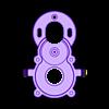 Center Gear Box P2.STL Télécharger fichier STL gratuit Camion 4WD 1:16 RC (échantillon) • Design imprimable en 3D, OM3