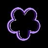 Flor de 5 6cm.stl Download STL file Flower Cutter Set • 3D printable object, juanchininaiara