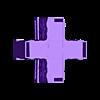 4-Way Wall.stl Download STL file Modular Magnetic Japanese Gate • 3D print model, HyperMiniatures