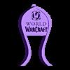 Warcraft_headphone_stand.stl Télécharger fichier STL gratuit Support pour casque d'écoute World of Warcraft • Modèle à imprimer en 3D, CheesmondN