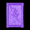 Piccc9Dil_v2_.stl Download free STL file Saint Michael the Archangel Lithophane • 3D printable design, rebeltaz