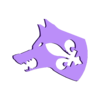 Loup Blanc Banc.stl Télécharger fichier STL gratuit Jeu de Loup Garou #Toy  • Plan imprimable en 3D, 10E9
