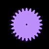 gear_base_leg.stl Télécharger fichier STL gratuit RoboDog v1.0 • Modèle pour imprimante 3D, robolab19