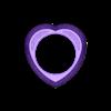 heart-ring.STL Télécharger fichier 3MF Modèle d'impression 3D d'un anneau en forme de cœur • Design pour impression 3D, RachidSW