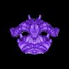 Demon Head + Base  Separate OBJ_SubTool1.obj Télécharger fichier OBJ Modèle d'impression 3D du buste du démon • Design imprimable en 3D, belksasar3dprint