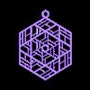 Ornament_B.obj Télécharger fichier OBJ gratuit Quatre ornements inspirés du vitrail • Design pour imprimante 3D, Not3dred