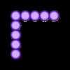 SameH_9.stl Download free STL file Odd Numbers and Square Numbers • 3D printable model, LGBU
